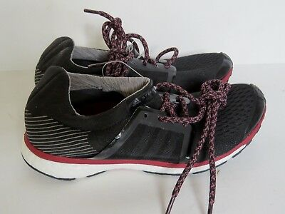 Sample Adidas Stella McCartney Adizero Adios woman shoe black running sneaker 7