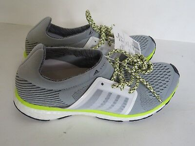 Sample Adidas Stella McCartney Adizero Adios woman shoe silver running sneaker 7