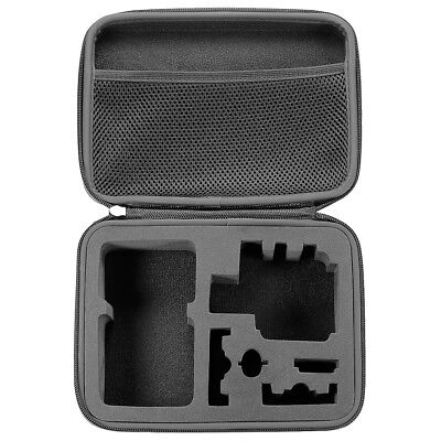 Neewer Black Carrying Travel Shockproof Case with Protector Pouch for GoPro Hero