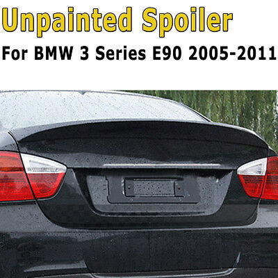 FOR BMW 3 SERIES E90 Saloon 05-11 M SPORTS ABS REAR TRUNK BOOT LIP SPOILER WING