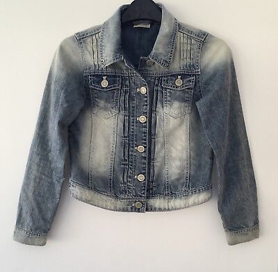 Next Girls Blue Denim Jacket Age 11 Years