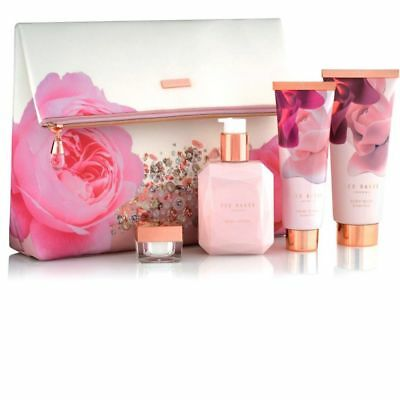 Brand New Ted Baker Blush Bouquet Cosmetic Gift set & Bag Ladies BNWT