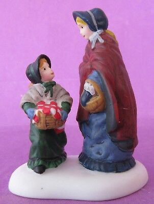 Dept 56- Dickens Village- Heading Home From The Market- #80449- RARE!