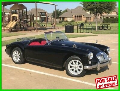 MGA Roadster Convertible 1959 MGA 1500 Roadster Convertible 1500cc Motor 4-Speed Manual Original Paint TX