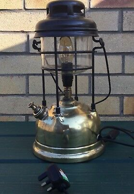 Vintage Tilley Lamp converted to electric.