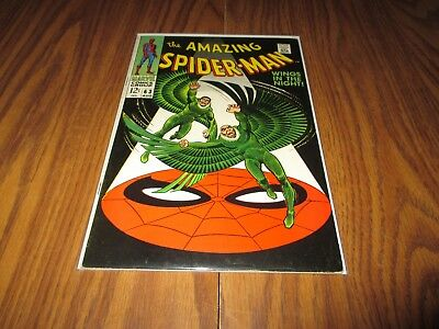 Amazing Spider-Man #63 Vulture Appearance Higher Grade