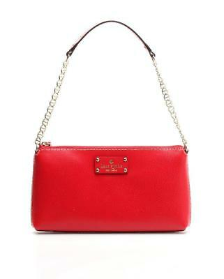 Kate Spade Garnet Wellesley Leather Byrd Shoulder Bag NEW