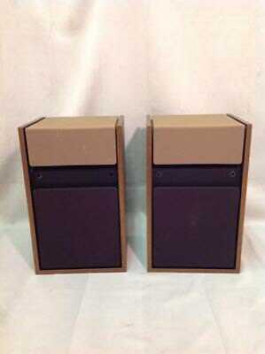 Vintage Pair Bose 301 Series Ii Speakers Bookshelf Floor