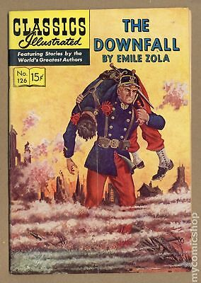 Classics Illustrated 126 The Downfall #1 1955 GD/VG 3.0