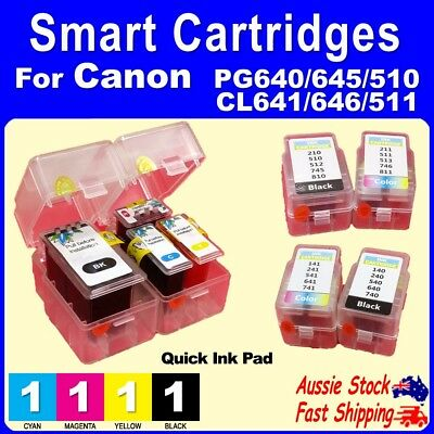 Smart Cartridge Pads for Canon PG510 PG645 CL511 CL646 PIXMA MG2560 MX496 MG2960