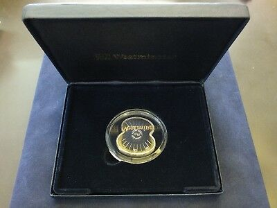 UK, The Royal British Legion Silver Poppy Coin, 2008. In box with COA. 28g.