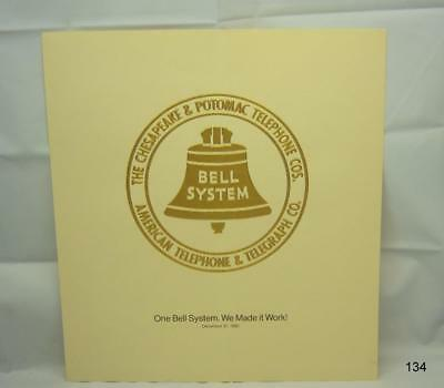 Bell System - C & P Telephone Co - AT&T Certificate - December 31, 1983