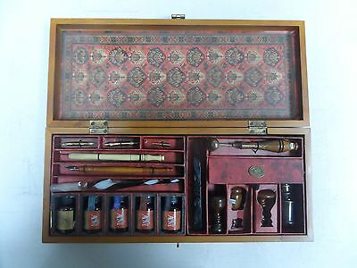 Vintage Writing Set Per Mare-Per Terram - By Land & By Sea