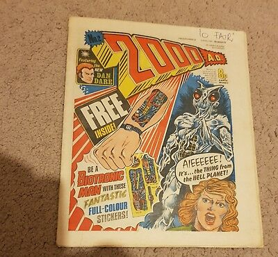 2000 AD Prog 2 first Judge Dread