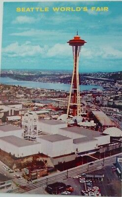 Aerial View of the Seattle World's Fair- 1962