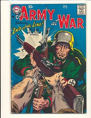 Our Army At War # 68 VG Cond.