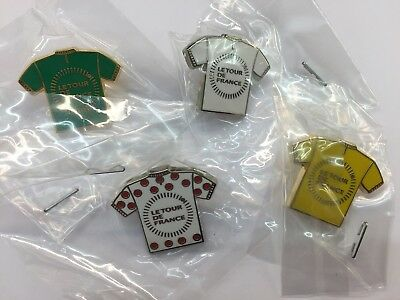 Pin's folies * Lot de 4 pin's arthus bertrand tour de france cycliste cycling