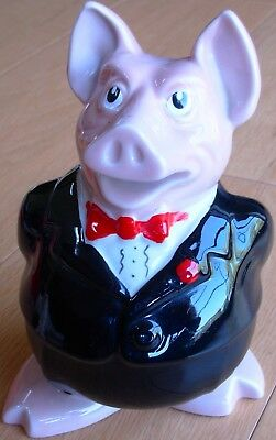 Natwest Pig Wade SIR NATHANIEL Piggy Bank - Money box With Original Stopper