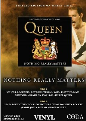 Queen - Nothing Really Matters - Brand  New White Vinyl LP -
