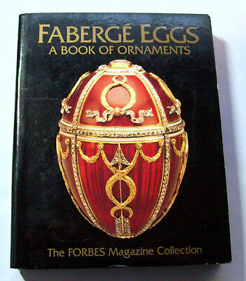 The Forbes Magazine Faberge Eggs a Book of (5) Pop-Out Ornaments Collection