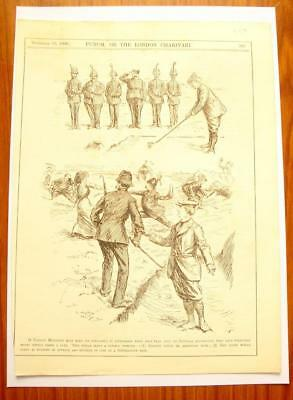 SUPERB ANTIQUE ORIGINAL PERIOD EARLY 1900`s POLITICAL SUFFRAGETTE CARTOON # 21
