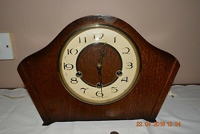 Vintage Smiths Westminster Chime mantle clock - Working