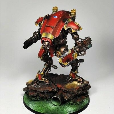 Warhammer 40k 40000 Mechanicus Imperial Knight Armiger Warglaive Forgebane