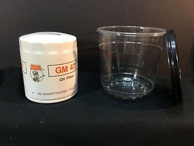 Bank Oil Filter Grease Monkey Gm47 Promotional Item For Employees In Case Usa