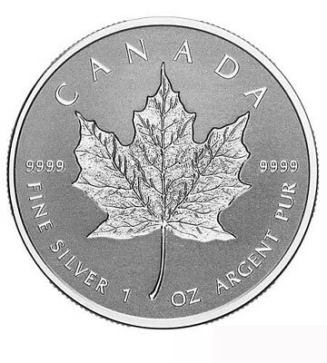 Canada $ 5 SILBER 1 oz Maple Leaf Incuse 2018 incl. Kapsel!