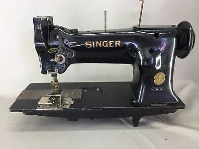 Old Sewing Machine Industrielle Singer 112W140