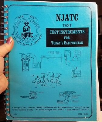Electrician Apprenticeship and Training NJATC Tect, test instruments for today's