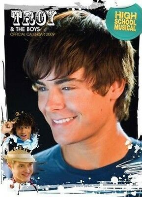 Troy & THE BOYS Calendario 2009 HIGH SCHOOL MUSICAL / EFRON