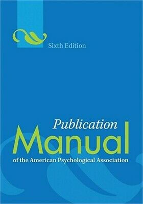 Publication Manual of the American Psychological Association (Spiral Bound, Comb