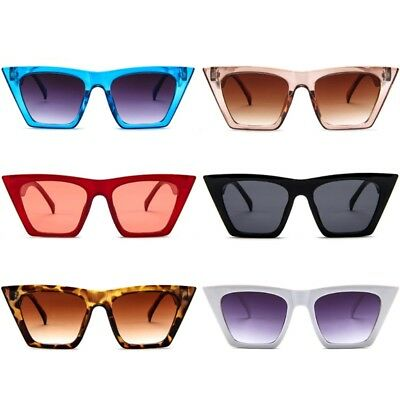 Fashion Women Lady Sunglasses Cat Eye Vintage Style Retro Shades Outdoor Party
