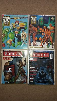 2000AD Judge Dredd : The Best of 2000AD Special Edition Complete set 1 - 4