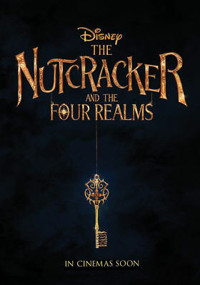 Nutcracker and the Four Realms - original DS movie poster - D/S 27x40 Advance