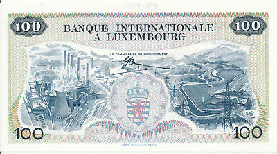 Luxemburg / Luxembourg - 100 Francs 1968 UNC - Pick 14, Serie X