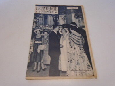 P Illustre N° 20 La Garden - Party Royale   1958 ***