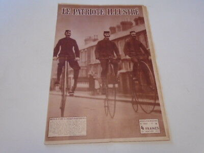 P Illustre N°3 Bicycles D'hier -Reunion Familliale Palais De Laeken  De  1953