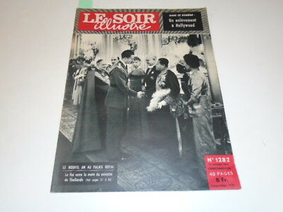 S  .Illustre N°1282 Le  Nouvel  An  Au  Palais  Royal  De 1957 *