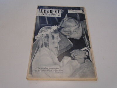 P. Illustre  N° 34 Communion De  Marie-Christine -  Journees Catholique 1958 ***