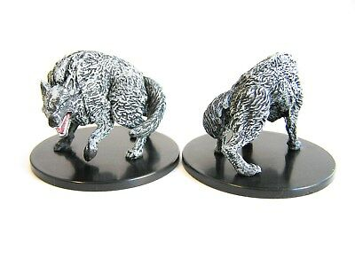 D&D Icons of the Realms - #025 Winter Wolf - Large Figure - Storm King´s Thunder
