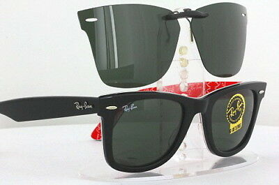 b56c449ce00 Custom Fit Polarized CLIP-ON Sunglasses For Ray-Ban RB2140 52x22 Rayban  2140 NEW