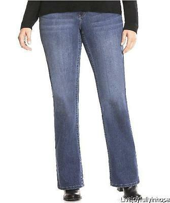 LANE BRYANT ~ NWT! 20 Short 22 24 Short or 24  ~ GENIUS FIT Bootcut Jeans