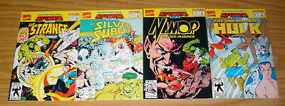 Return of the Defenders #1-4 VF/NM complete story - doctor strange - hulk namor