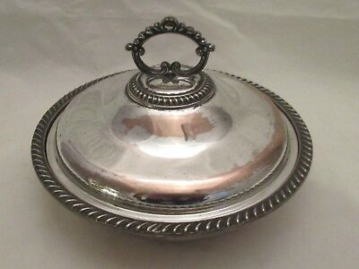 A Good Old Sheffield Plate Muffin Dish c1820