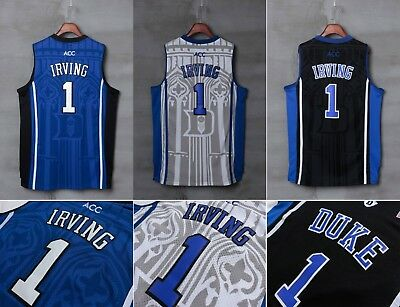ed91fcb7 ... czech ncaa duke blue devils 1 kyrie irving men stitched basketball sewn  s xxl jersey b156f