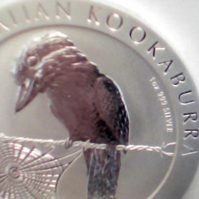 2008 AUSTRALIA Troy Ounce .999 SILVER DOLLAR KOOKABURRA UNCIRCULATED