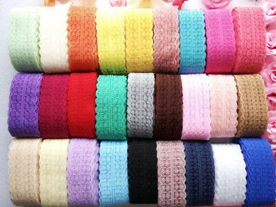 20 colors 10-300 yards net embroidery lace ribbon lace Bilateral free shipping