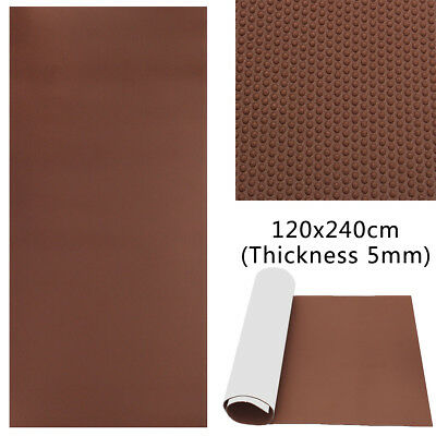 120x240cmx5mm EVA Boat Self-Adhesive Yacht Floor Teak Decking Sheet Marine Mat